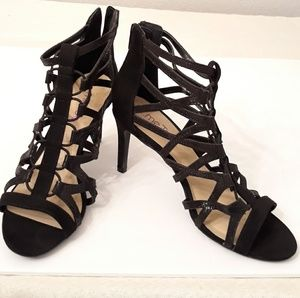 Me Too Caged heels size 7.5